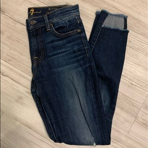 7 for all mankind skinny's